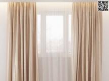 卧室窗帘2018新款 高品质3D模型