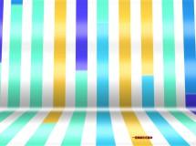 动态彩条卡通led背景视频