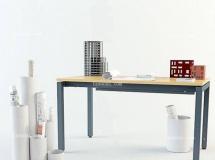 3D办公模型  工业办公室书桌书本图纸3D模型