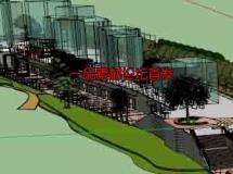 sketchup广场公园模型大集合