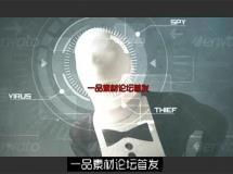 AE模板 震撼科技大气粒子流体快速闪烁变幻图片电影宣传模板 AE素