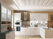 3D橱柜模型  白色欧式厨房3D模型下载