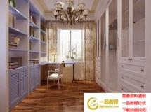 现代风格的简雅衣柜、衣帽间 高质量3D模型