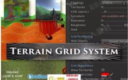 2D网格生成器地形工具Unity游戏素材资源