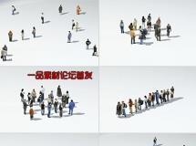 DOSCH 3D: Lo-Poly People130个有贴图的三维模型人下载