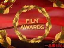 黄金叶电影颁奖包装AE模板,Videohive Film Awards Broadcast Pa