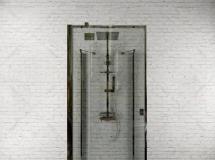 3D卫浴模型  方形玻璃式现代淋浴房3D模型高品质 3D模型下载