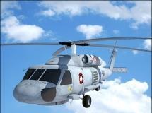 Maya直升飞机模型