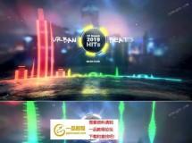城市节奏,3款炫酷的音频波形可视化特效AE模板