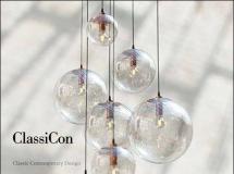 一个漂亮的玻璃球吊灯3d模型