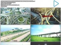 城市交通发展高速公路火车列车交通运输镜头高清视频延时实 ...
