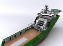 turbosquid - dynamicPositioning Ship