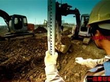 挖土机工作高清实拍视频素材1080P