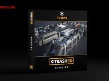 Kitbash3D – Props: Greebles