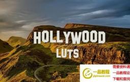 22组好莱坞电影视频LUTS调色预设 Hollywood Luts (AE/Pr/FCPX/达芬奇/PS等)