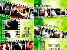胶片老电影效果的婚礼模板——087 RSFilmtrip