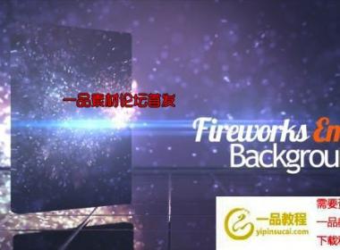 6组粒子飘动散开视频素材 Fireworks Ember BG