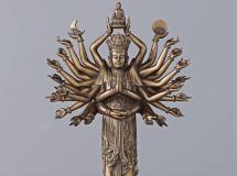 3D摆件模型  中式千手观音佛像雕塑下载