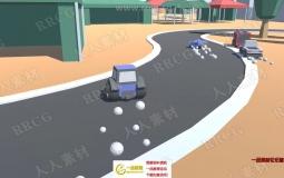 Unity赛车游戏独立开发完整实例制作视频教程