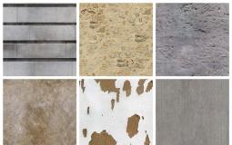 34个水泥墙面 混凝土纹理C4D/3D材质贴图