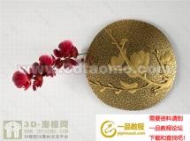 3D饰品模型  漂亮的墙面挂件装饰品高品质 3D模型下载
