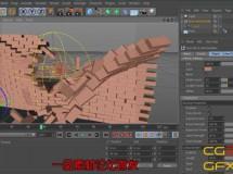 C4D砖墙制作预设 Brick Wall Builder for Cinema 4D