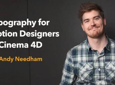 C4D三维文字动画教程 Lynda – Typography for Motion Designers in Cinema 4D