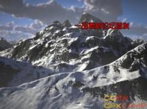C4D延绵雪山预设 Infinite Mountains for Cinema 4D