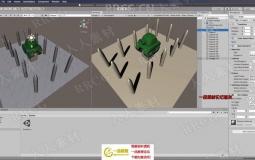 Unity丧尸兵团第一人称射击游戏完整制作视频教程