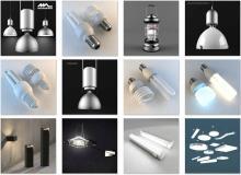 3ddd - modern street and technical lighting