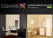 CGAxis浴室家具集合-第2部分