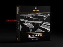 Kitbash3D – Props: Highways