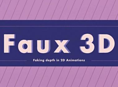 虚假三维空间MG动画AE教程 Skillshare – Faking Depth in After Effects Made Easy Animate a Faux 3D Looping Car
