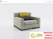 3D办公桌椅   现代办公室沙发3D模型下载