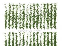 3D花草模型 植物墙饰藤蔓3D模型 下载