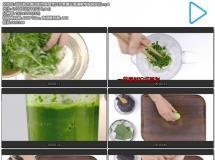 甜品糕点青团制作美食烹饪水煮青艾高清教学视频实拍