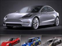特拉斯汽车模型集 高品质模型  奥迪R18