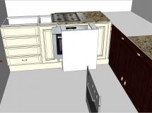 新古典风格家装-厨房-27M草图大师su模型