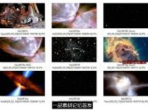 浩瀚宇宙星际太空奇观哈勃望远镜实拍壮观HD高清影视动态视频素材