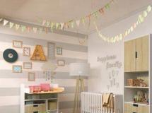 3D儿童房模型下载 儿童玩具房模型Decorative set for a children №3