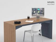 3D办公桌椅   办公室桌椅3D模型下载