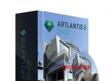 Abvent Artlantis Studio建筑场景专业渲染软件V6.0.2.12版