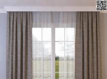 漂亮的卧室窗帘 高品质模型下载
