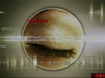 科技眼睛闪烁动画AE模板—Videohive Eye Techl 174779 Project f