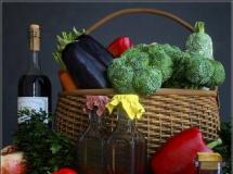 菜篮子 蔬菜模型  高品质3D模型下载