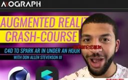 C4D导入Spark AR软件教程 Mograph – C4D to Spark AR Crash-Course