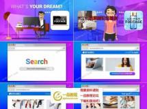 卡通人物对在线电子商务进行解释的动画视频AE工程
