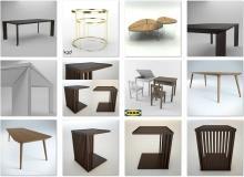 3ddd - modern table