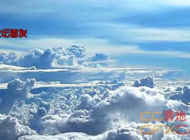 实拍高空云层视频素材 Flying Above the Clouds 3