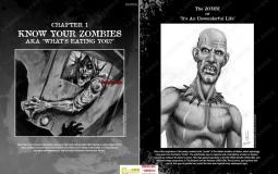 如何绘制僵尸战斗战争漫画书籍